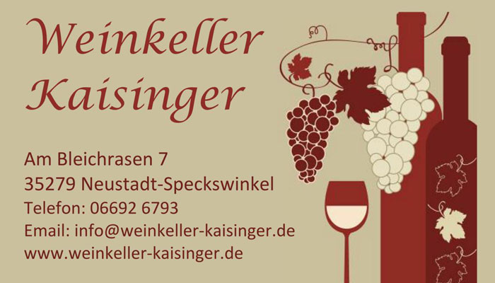 Weinkeller-Kaisinger